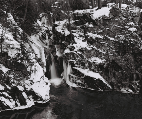 THE FALLS OF THE BRUAR
